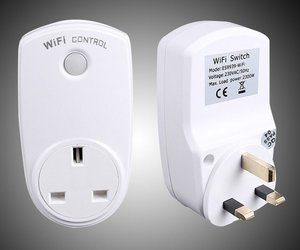 WiFi Smart Plug Remote Control Outlet for Home Appliances No Hub Required, an item from the 'Smart Home and WiFi' hand-picked list