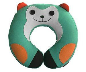 Gentle Meow Durable Handmade Neck Pillow Canvas U-Shaped Travel Pillow, an item from the 'Travel Must-Haves' hand-picked list