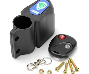 Alarm Anti Theft Lock with Wireless Remote Control Cycling Bicycle Bike Security, an item from the 'Smart Home and WiFi' hand-picked list