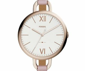 NEW Fossil Ladies Annette Pink Leather Strap Jewellery Watch ES4356, an item from the 'Watches for Her ' hand-picked list