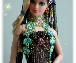NEW ooak Barbie as Earth Day Goddess by dollocity, an item from the 'Earth Day... Recycle, Reuse, Reduce' hand-picked list