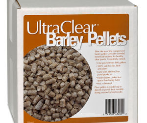 Ultra Clear Barley Pellets for Clear Water Naturally 5 LB, an item from the 'Ponds and Water Features' hand-picked list