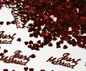 Scatters Confetti Gold Silver Just Married Design For DIY Party Wedding Decors, an item from the 'A Reception to Remember' hand-picked list