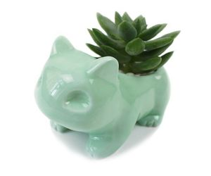 Pots Ceramic Flowers Succulent Planter Green With Hole Porcelain Glazed Nursery, an item from the 'Pretty Planters' hand-picked list