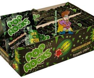 Watermelon Pop Rocks, 36 Packs, an item from the 'Rockstars' hand-picked list