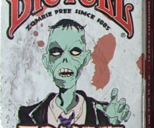 Zombie Playing Cards Bicycle USA Zombie Free Since 1885 Standard NISW Last One, an item from the 'Halloween Party Games' hand-picked list