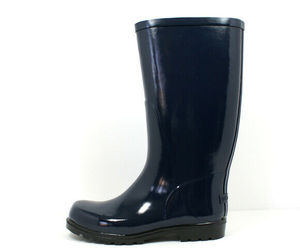 Columbia Women's Downpour Rain Boot Navy/Black, an item from the 'Fall Footwear' hand-picked list