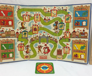 1964 Mother Hubbard Board Game Spinner Card Childrens Mr Fun Cadaco , an item from the 'Community Picks: Game On...' hand-picked list