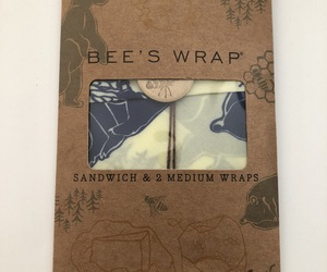 Bee's Wrap Lunch Pack, Eco Friendly Reusable Sandwich & Food Wrap Set, an item from the 'Go Green' hand-picked list