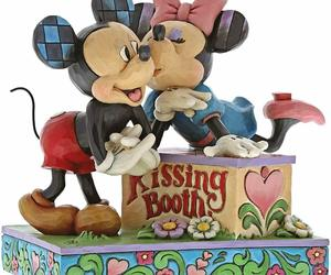 "6"" Kissing Booth Mickey & Minnie Mouse Figurine - Jim Shore Disney Traditions, an item from the 'A Story-Book Romance...' hand-picked list"