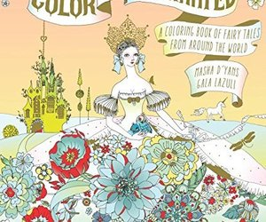 Color Me Enchanted: A Coloring Book of Fairy Tales from Around the World [Paperb, an item from the 'Color My World...' hand-picked list