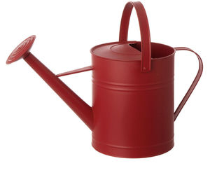 Gardening water can 19IN RED WATERCAN MTL, an item from the 'Garden Tools' hand-picked list