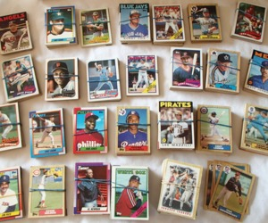 MLB Topps Baseball Cards 694 Total 1974-1989 All Teams A-Y Good-VG Condition Lot, an item from the 'Community Picks: Sporty Dad' hand-picked list