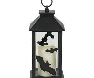 Halloween LED Bat Lantern, an item from the 'Cute Bats and Black Cats' hand-picked list