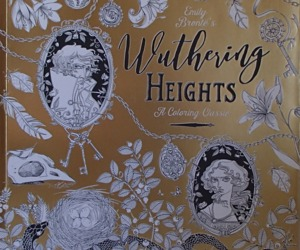 Wuthering Heights A Coloring Classic PB Book 2016 Random House Emily Bronte's, an item from the 'Color My World...' hand-picked list