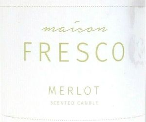 Mosaic Bath & Spa 11.29 Oz Maison Fresco Merlot Soy Wax Yellow Scented Candle, an item from the 'Hygge Life' hand-picked list