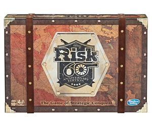 60th Anniversary Risk Board Game Edition from Hasbro, an item from the 'Games People Play' hand-picked list
