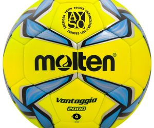 Molten VANTAGGIO 2000 - F4V2000-LB  AYSO Soccer Ball Balon de Futbol Size 4, an item from the 'Youth Soccer Gear' hand-picked list