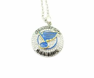 USA St. Louis Blues Stanley Cup Championship Ring Inspired Pendant Necklace, an item from the 'Community Picks: St. Louis Blues' hand-picked list