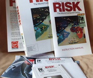 RISK Computer Edition World Conquest Game Complete Virgin Games 1991 Vintage VG , an item from the 'Community Picks: Game On...' hand-picked list