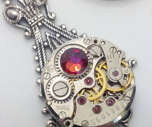 Steampunk Victorian Volcano Necklace - Steampunk Jewelry by Steamretro - Christm, an item from the 'Community Picks: Steampunk & Gothic Jewelry' hand-picked list