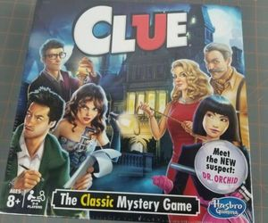 Clue Suspects and Discover Kids & Family Fun The Classic Mystery Game New Sealed, an item from the 'Make it a Classic Family Game Night ' hand-picked list