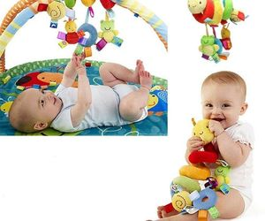 NEW! Baby Car Seat Spiral Activity Toy  Snake Caterpillar W/ Tags on Frog & Bee, an item from the 'Community Picks: Shower Me With Love!' hand-picked list