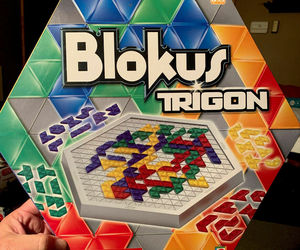 Blokus Trigon Board Game Educational Insights 2006 COMPLETE , an item from the 'Games People Play' hand-picked list