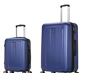 DUKAP Crypto 2 piece Hardside Luggage Set with Spinner Wheel, Travel Suitcases w, an item from the 'Gifts for Grads' hand-picked list