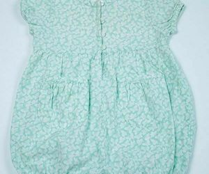 BABY GAP GIRLS SMALL 3-6 MONTHS GREEN BUTTERFLY ROMPER 1 PC OUTFIT 3M 6M, an item from the 'MINT CONDITION ' hand-picked list