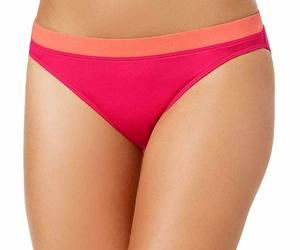 NWT  Lauren by Ralph Lauren Women's Pink Bikini Swimsuit Bottom Size 4 - 12 - 14, an item from the 'Swimwear' hand-picked list