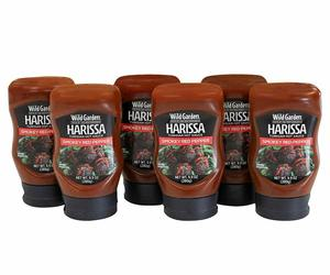 6 pcs Wild Garden Harissa Sauce & Dressing, an item from the 'Community Picks: Hot and spicy with Harissa ' hand-picked list