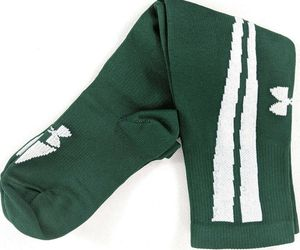 Under Armour Youth Soccer Socks Medium Green White Knee High 1 Pair (sks6/ua1), an item from the 'Youth Soccer Gear' hand-picked list