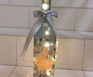 Disney Alice in Wonderland Night Light Lamp Bottle. Very Pretty and RARE Item, an item from the 'We're All Mad Here' hand-picked list