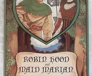 Robin Hood Maid Marian Vintage Rare Paper Doll Book Peck Aubry 1994 USA Like New, an item from the 'A Story-Book Romance...' hand-picked list