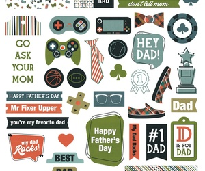 Rad Dad Ephemera Cardstock Die-Cuts- , an item from the 'Community Picks: Rad Dad' hand-picked list