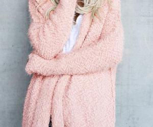 Women Fuzzy Solid Color Hooded Outwear Coats, an item from the 'Fuzzy Feels' hand-picked list