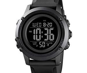 Men's Digital Sports Watch Large Face Waterproof Wrist Watches for Men with Stop, an item from the 'Rock Around the Clock' hand-picked list