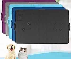 "IMPAWFAN Silicone Pet Feeding Mat for Dogs and Cats, 23""x15"" Waterproof Pet Food, an item from the 'Dog and Cat Lovers' hand-picked list"