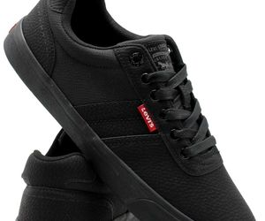 Levi's Mens Miles Tumbled Wx Rubber Sole Casual Fashion Sneaker Shoe, Black, ..., an item from the 'These Boots Were Made for Rocking' hand-picked list