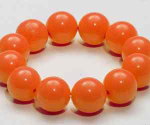 Gumball Bracelet 80's Retro Rave Club Candy Halloween Costume Accessory 4 COLORS, an item from the 'Orange Dreamsicle Dreams' hand-picked list