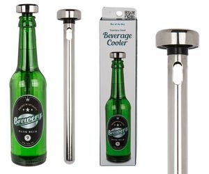 Stainless Steel Beer / Wine Cooler Ice Chiller Rod Stick, an item from the 'Happy Hour at Home' hand-picked list