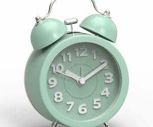 """Nice Alarm Clock 3"""" Face Blue Twin Bell Vintage Shabby Chic Farmhouse Desk, an item from the 'It's TIME to Spring Forward' hand-picked list"""