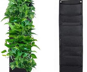 Set of 2 Vertical Garden Planter| Wall Hanging Planter Indoors|Hanging Planters|, an item from the 'Indoor Garden' hand-picked list