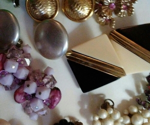 Vintage lot of Earrings, an item from the 'Geometrically Speaking..' hand-picked list