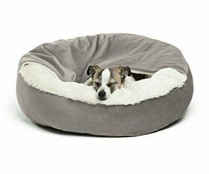 Best Friends by Sheri Cozy Cuddler, – Luxury Dog and Cat Bed Jumbo, Grey Ilan, an item from the 'Dog and Cat Lovers' hand-picked list