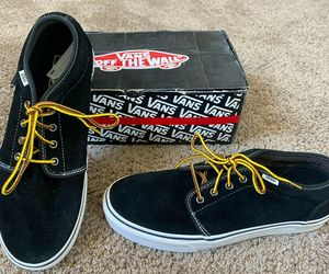 NEW VANS SHOES CHUKKA 79 PRO CLASSICS 11.5 MENS BLACK BROWN OXFORD SUEDE NIB NOS, an item from the 'These Boots Were Made for Rocking' hand-picked list