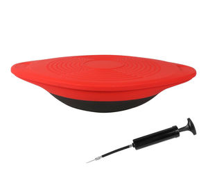 Red Wobble Balance Disk Core Muscle Group Workout Stability Trainer, an item from the 'Fitness Focus' hand-picked list