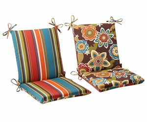 Patio Deck High Back Chair Cushions Set Indoor Outdoor Seat Covers Replacement, an item from the 'Outdoor Oasis' hand-picked list