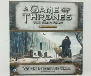 New A Game of Thrones LCG: 2nd Edition Watchers on the Wall Deluxe Expansion FFG, an item from the 'Halloween Party Games' hand-picked list